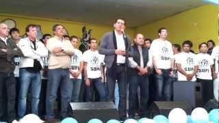 preview picture of video 'Ramón Garaza, discurso Día del Trabajador 2012'