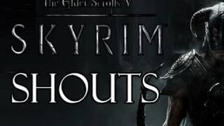 Elder Scrolls V: Skyrim - Shouts Walkthrough