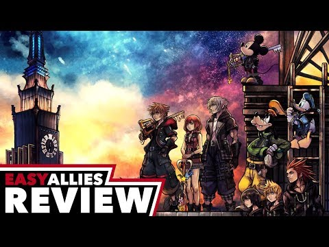 Kingdom Hearts III - Easy Allies Review - YouTube video thumbnail