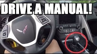 HOW TO DRIVE A STICK SHIFT: EASY! Step by Step Tutorial!