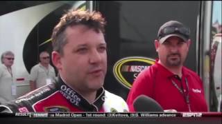Tony Stewart Funny/Angry/Memorable Moments
