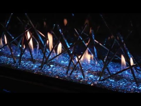 Napoleon LV50 Linear Direct Vent LED Lighting fireplace review