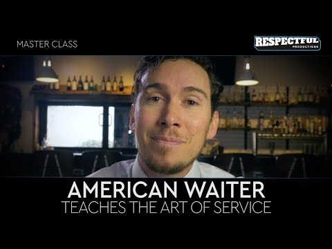 Master Class with American Waiter