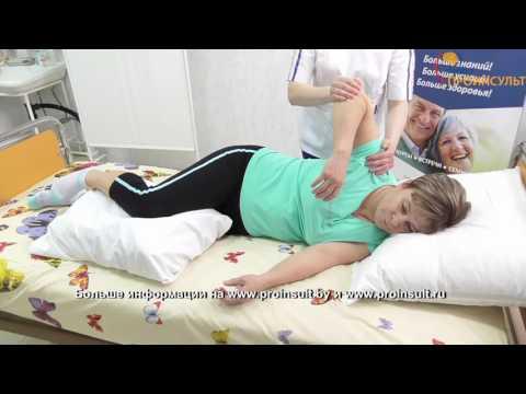 Упражнения после инсульта для рук. Видео 1. Пассивные круговые движения в плечевом суставе.