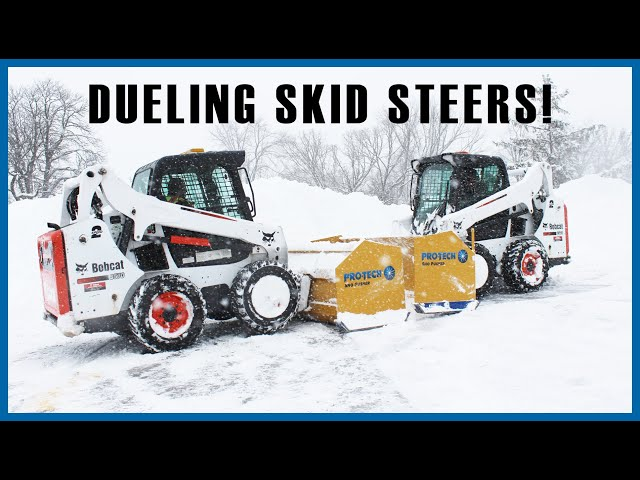 Bobcat Skid Steers and Sno Pushers