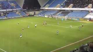 preview picture of video 'Millwall FC - AFC Bournemouth 0-2 28/12/2014'