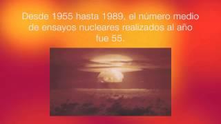 Historia de las pruebas nucleares