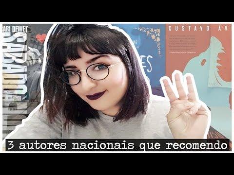 3 AUTORES NACIONAIS QUE RECOMENDO | por Carol Sant