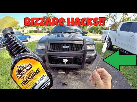 7 BIZARRE Car Cleaning Hacks That Actually Work!!