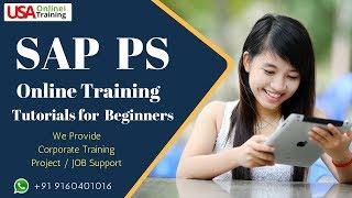 SAP PS Online Training | SAP PS Tutorials | SAP PS Project Support