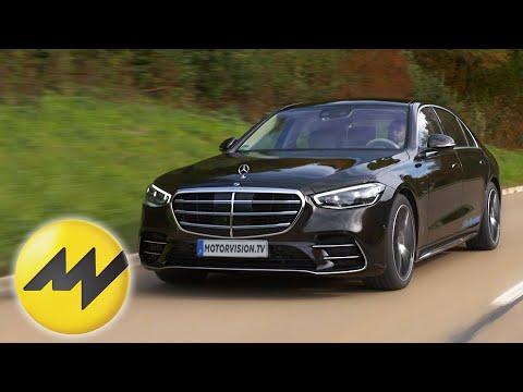 Erste Ausfahrt im Mercedes S580e Plug-In-Hybrid 2021 I Motorvision