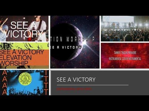Elevation Worship - See A Victory - Instrumental Cover w/ Lyrics