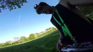 Golf course fpv drone fly