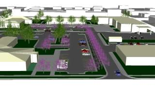 J-U-B Engineers, Inc. - Kaysville Civic Block Conceptual Design Animation