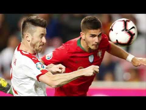 Portugal empata ante Serbia y Cristiano Ronaldo sale lesionado