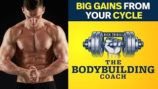 How To Keep The Most Gains From A Cycle | The Bodybuilding Coach