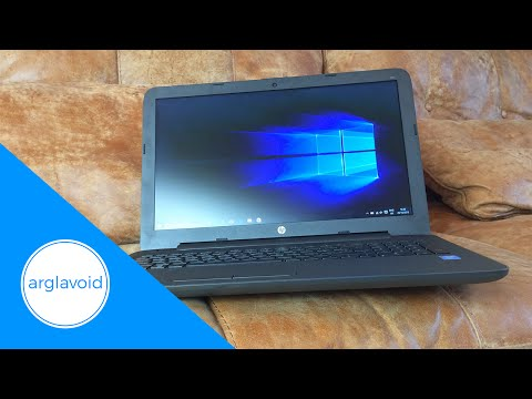 HP 250 G4 Notebook PC review