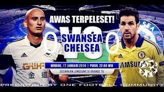 preview picture of video 'PREDIKSI SWANSEA VS CHELSEA HD | 17 JANUARY 2015'
