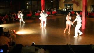 Hot & Sexy Salsa Dance Baila Que Baila Performance @ Indianapolis March 23rd 2012.avi
