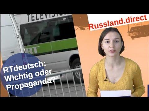 RTdeutsch: Wichtig oder Propaganda? [Video]