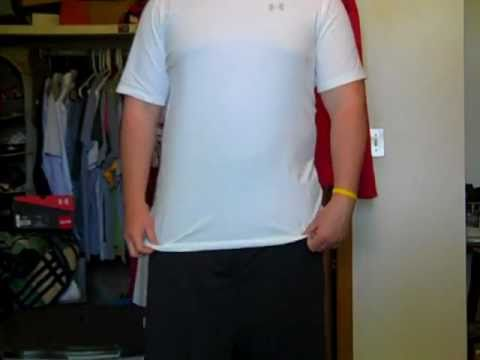 Under Armour Charged Cotton...PART 2 (Fit Review)