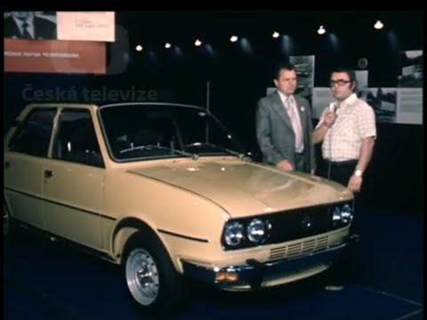 Škoda 120 Zahájení výroby 1976 ČT