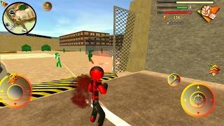 Stickman Rope Hero 2 Android Gameplay HD