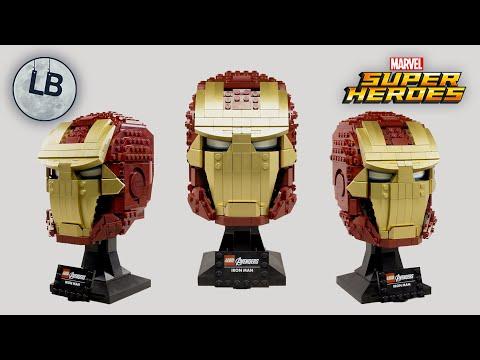 Vidéo LEGO Marvel 76165 : Casque d'Iron Man