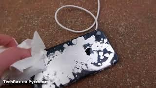 iPhone 7 ПРОТИВ Самой СИЛЬНОЙ КИСЛОТЫ в Мире!!!ШОК. iPhone 7 vs World's Strongest Acid