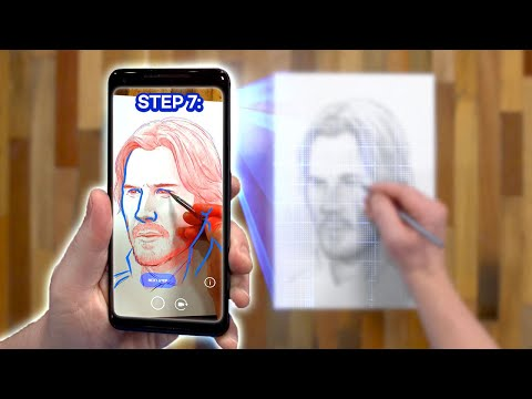 Drawing with Augmented Reality: AMAZING or AWFUL?? - SketchAR Review *Brutally Honest*