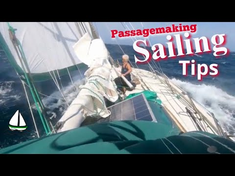OFFSHORE SAILING TIPS: Africa Storms, Tame the Autopilot + Mainsail Battens - Patrick Childress #38