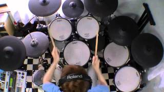 "Dizzy Mizz Lizzy ""Waterline"" - Drum Cover"