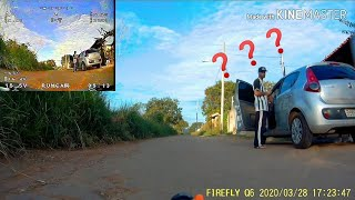 Test Rc Car Em FPV Frsky r9m vídeo 1.2ghz lawmate 1w (Teste Diurno)