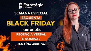 Semana Especial Esquenta Black Friday - Português: Regência verbal e nominal