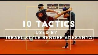 Israel Adesanya's BEST 10 Kickboxing TACTICS