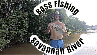 BASS fishing on the SAVANNAH River