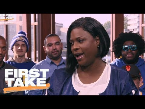 Draymond Green's Mom On Her Son's Emotions and Kevin Durant | First Take | June 5, 2017
