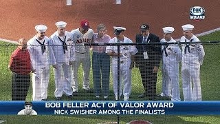 Swisher among the finalists for Valor Award