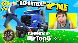 I Stream Sniped With MONSTER TRUCKS! (Car Mods)
