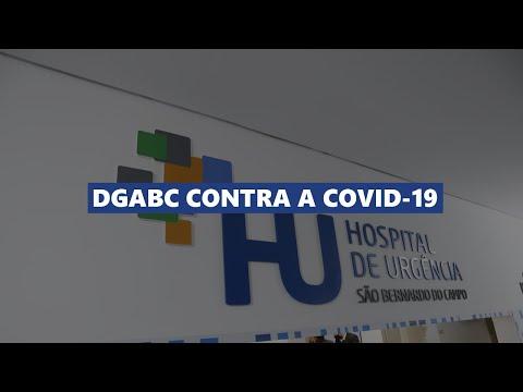 Coronavírus - Hospital de Urgências é inaugurado em São Bernardo