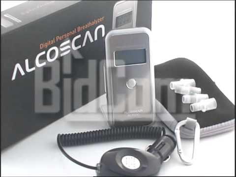 Alcoholimetro Test De Alcoholemia Tester Alcoscan Al7000