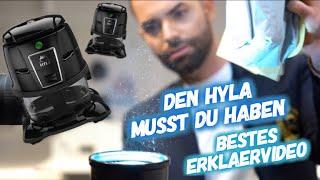 So funktioniert der HYLA | Wasserstaubsauger kurz erklärt!