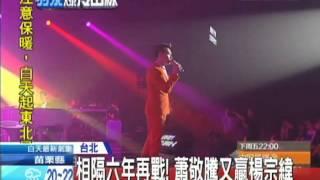 Gambar cover 20130413中天新聞 相隔六年再戰! 蕭敬騰又贏楊宗緯