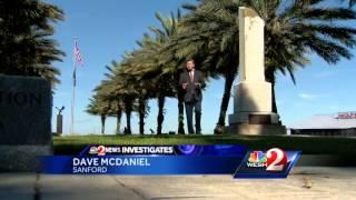 Commemorative bricks at Veterans Memorial Park are fading away