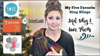 My Five Favorite Ring Slings And Why I Love Them | The Sensible Mama