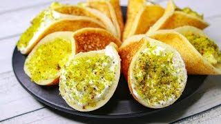 Qatayef Middle Eastern Dessert | Qatayef With Cream | Arabic Dessert Recipe | Yummy