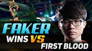 Faker Feeds First Blood But Destroys Lane Anyway!
