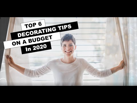 HOME DECORATING IDEAS ON A BUDGET IN 2020