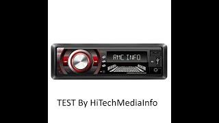 TAKARA RDU1840BT AUTORADIO BLUETOOTH TEST en Fr