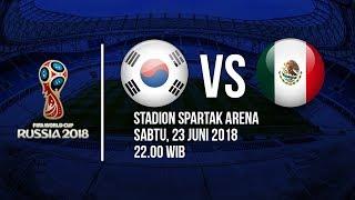 Jadwal Live Trans TV Pertandingan Piala Dunia 2018: Korea Selatan Vs Meksiko Pukul 22.00 WIB